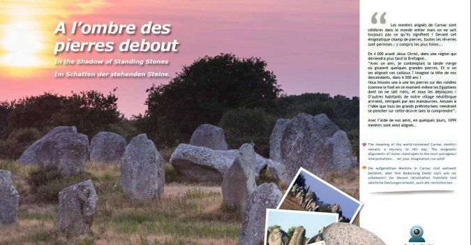 Tourisme magazine Carnac - Sites de mégalithes